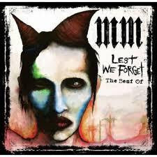 MANSON MARILYN-LEST WE FORGET THE BEST OF CD VG