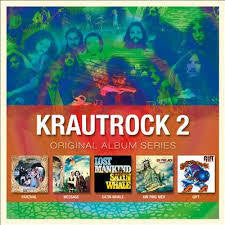 KRAUTROCK 2-ORIGINAL ALBUM SERIES 5CD *NEW*
