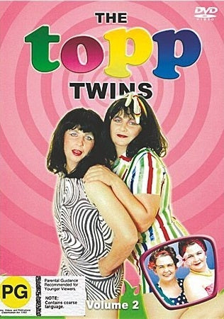 TOPP TWINS-VOLUME 2 DVD VG