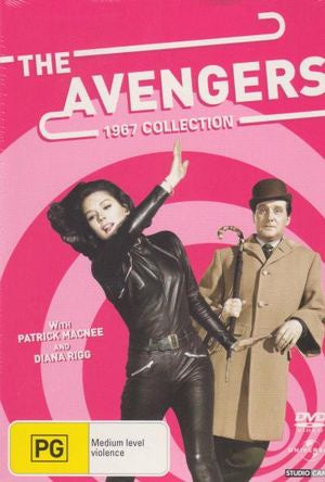 AVENGERS THE 1967 COLLECTION 9DVD VG