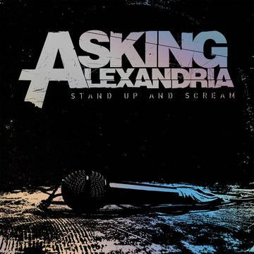 ASKING ALEXANDRIA-STAND UP & SCREAM SLIVER/ BLACK SPLATTER VINYL LP *NEW*