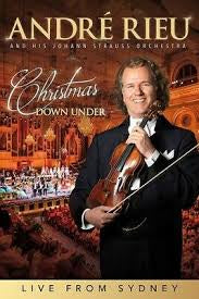 RIEU ANDRE-CHRISTMAS DOWN UNDER DVD *NEW*