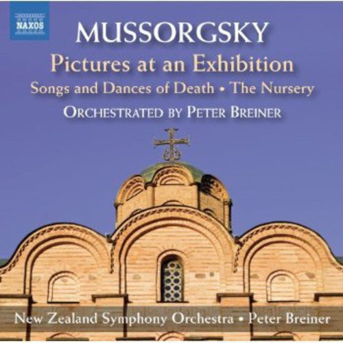 MUSSORGSKY-PICTURES AT AN EXHIBITION NZSO CD *NEW*