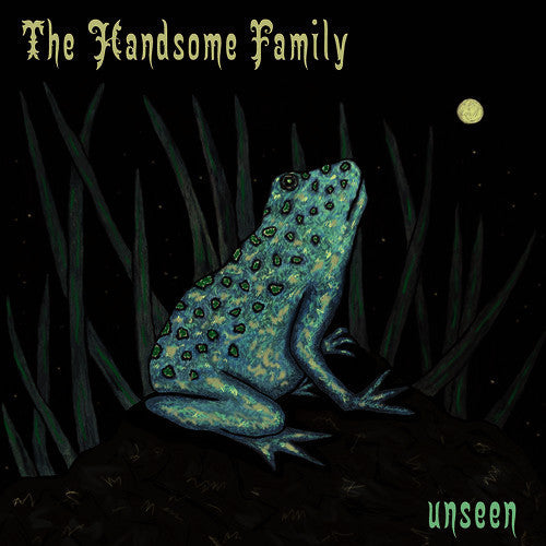 HANDSOME FAMILY THE-UNSEEN LIMITED EDITION TRANSPARENT GREEN VINYL *NEW*