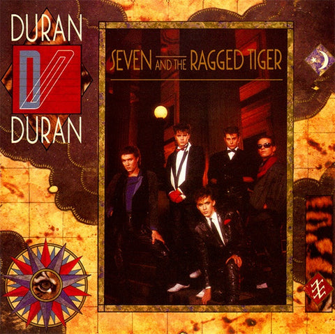 DURAN DURAN-SEVEN & THE RAGGED TIGER CD VG