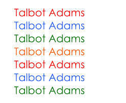 ADAMS TALBOT-TALBOT ADAMS LP *NEW*