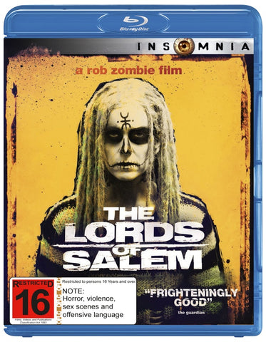 LORDS OF SALEM BLURAY VG+