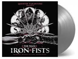 MAN WITH THE IRON FISTS OST-VARIOUS ARTISTS SILVER VINYL LP *NEW*