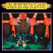 "HAWKWIND-BACK ON THE STREETS WHITE VINYL 7"" *NEW*"