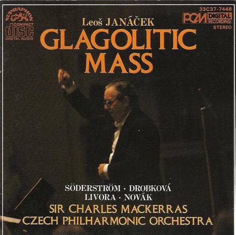 JANACEK-GLAGOLITIC MASS MACKERRAS CD VG