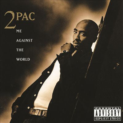 2PAC-ME AGAINST THE WORLD CD VG