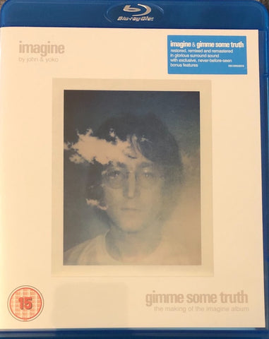 LENNON JOHN & YOKO ONO-IMAGINE GIMME SOME TRUTH BLURAY VG+