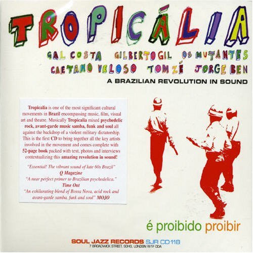 TROPICALIA A BRAZILIAN REVOLUTION IN SOUND CD VG