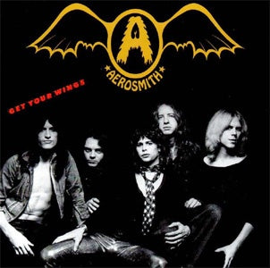AEROSMITH-GET YOUR WINGS CD VG