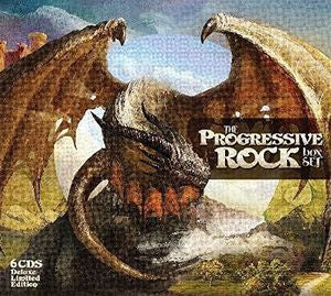 PROGRESSIVE ROCK BOX SET-VARIOUS ARTISTS 6CD DELUXE EDITION *NEW*
