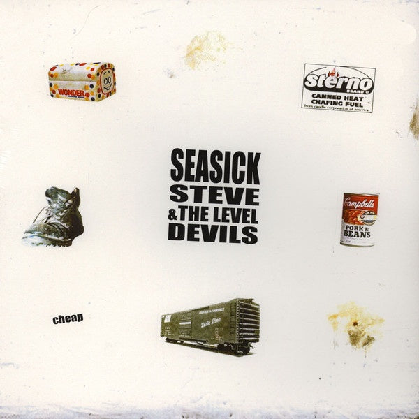SEASICK STEVE & THE LEVEL DEVILS-CHEAP LP *NEW*