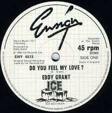 "GRANT EDDY-DO YOU FEEL MY LOVE? 12"" VG COVER VG+"