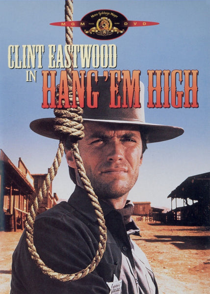 HANG 'EM HIGH DVD VG