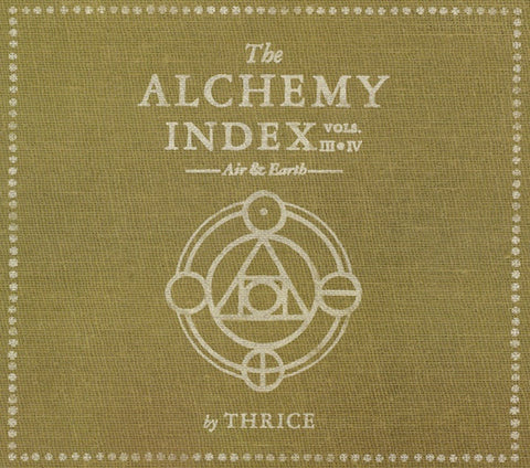 THRICE-THE ALCHEMY INDEX VOL III & IV: AIR AND EARTH 2CD VG