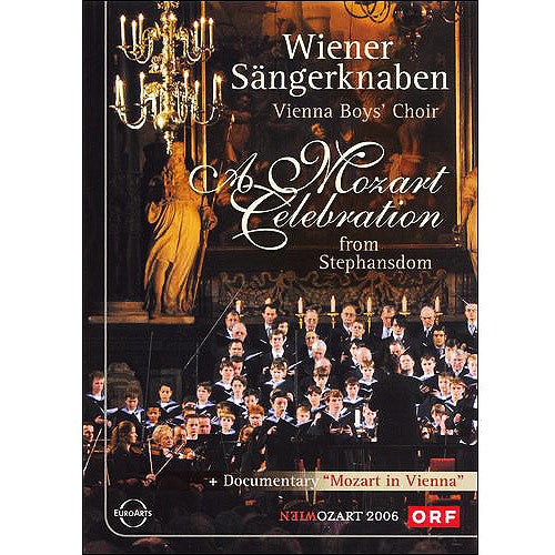 VIENNA BOYS CHOIR-A MOZART CELEBRATION + IN VIENNA DVD *NEW*