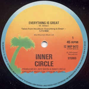 "INNER CIRCLE-EVERYTHING IS GREAT 12"" VG COVER VG+"