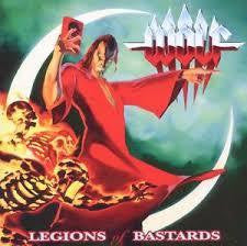 WOLF-LEGIONS OF BASTARDS CD VG+