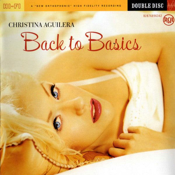 AGUILERA CHRISTINA-BACK TO BASICS CD+DVD  VG