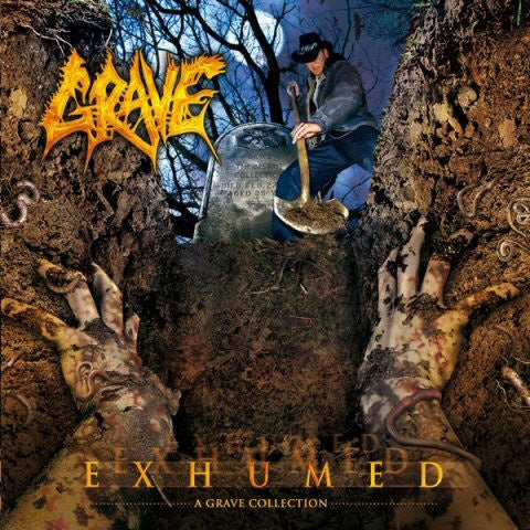 GRAVE-EXHUMED CD VG