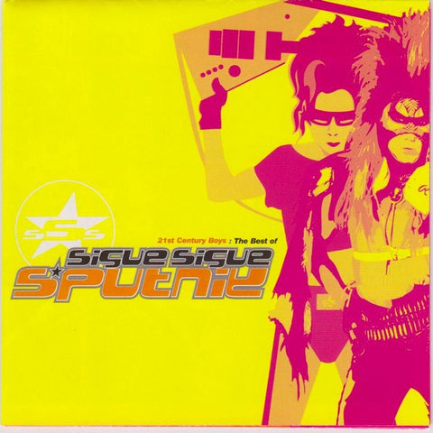 SIGUE SIGUE SPUTNIK-21ST CENTURY BOYS THE BEST OF CD VG+