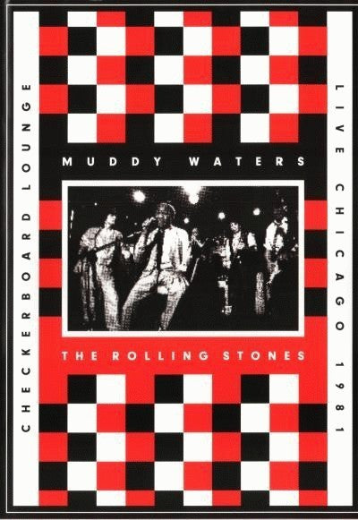 WATERS MUDDY + ROLLING STONES-CHECKERBOARD LOUNGE DVD VG+
