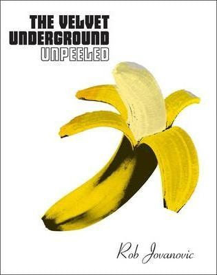 VELVET UNDERGROUND THE-PEELED BOOK NM,