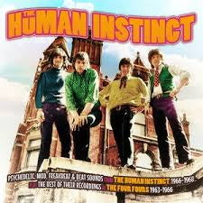 HUMAN INSTINCT THE-THE HUMAN INSTINCT & THE FOUR FOURS 1963-1968 CD *NEW*