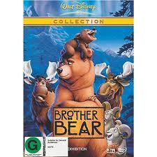 BROTHER BEAR FILM REGION 4 DVD VG