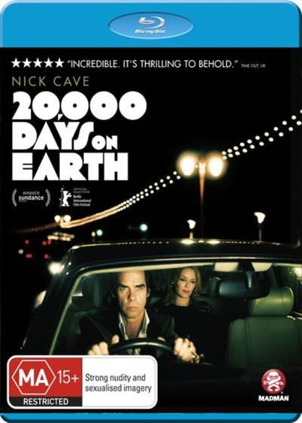 CAVE NICK-20,000 DAYS ON EARTH BLURAY * NEW*