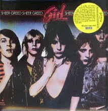 GIRL-SHEER GREED LP NM COVER VG