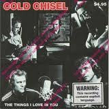 COLD CHISEL-THE THINGS I LOVE IN YOU CD SINGLE M