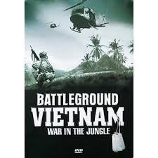 BATTLEGROUND VIETNAM WAR IN THE JUNGLE 5DVD VG+