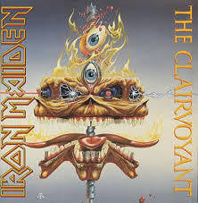 "IRON MAIDEN-THE CLAIRVOYANT 12"" VG COVER VG+"