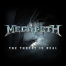 "MEGADETH-THE THREAT IS REAL 12"" EX COVER VG"