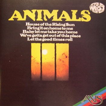ANIMALS THE-THE MOST OF ANIMALS CD VG