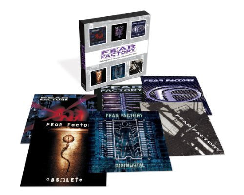 FEAR FACTORY-COMPLETE ROADRUNNER COLLECTION 1992-2001 6CD VG+