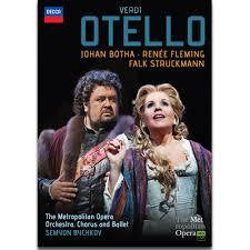 VERDI-OTELLO MET OPERA/ BOTHA/ RENEE FLEMING DVD *NEW*