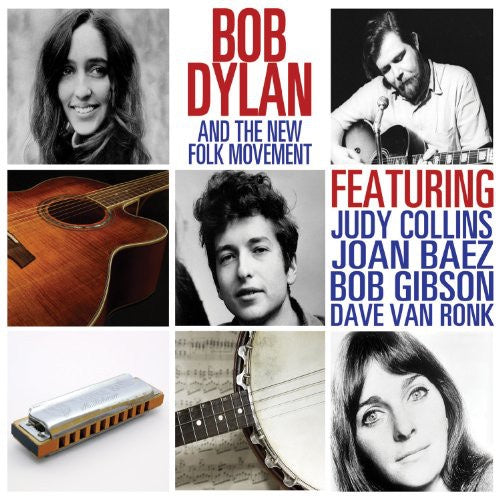 DYLAN BOB-BOB DYLAN & THE NEW FOLK MOVEMENT CD VG