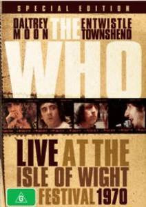 WHO THE-LIVE AT THE ISLE OF WIGHT FESTIVAL 1970 DVD VG