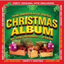 ABSOLUTE BEST CHRISTMAS ALBUM IN THE WORLD...EVER! 2CD VG