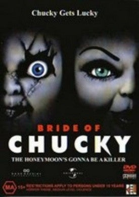 BRIDE OF CHUCKY DVD VG