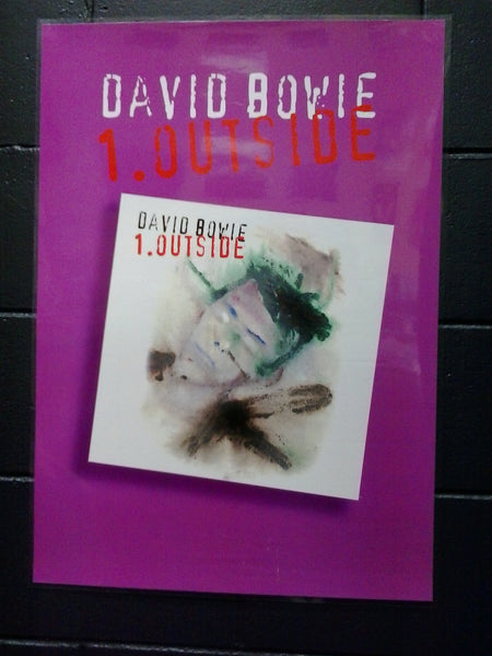 BOWIE DAVID-OUTSIDE PROMO POSTER
