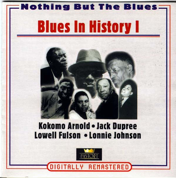 BLUES IN HISTORY I-VARIOUS ARTISTS 2CD VG