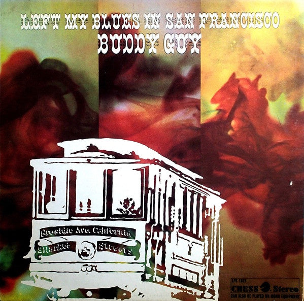 GUY BUDDY-LEFT MY BLUES IN SAN FRANCISCO CD VG
