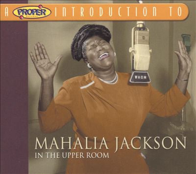 JACKSON MAHALIA-IN THE UPPER ROOM CD VG